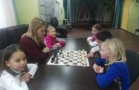 Товарищеская встреча по шахматам.